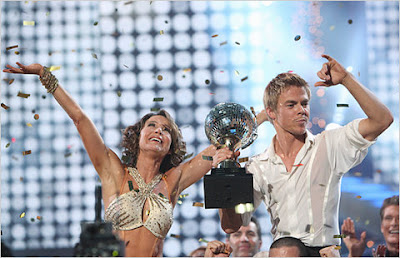 Jennifer Grey and Derek Hough Wins Dancing With The Stars
