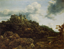 Bentheim Castle / Jacob van Ruisdael