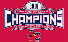 Johnson City Cardinals 2010 Appalachian League Champions