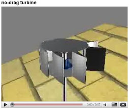 NO DRAG TURBINE