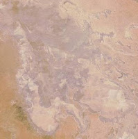lake Eyre dry mid April 2008