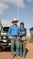 Jim & Sarah, the Peak cattle station managers