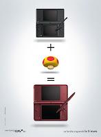 Design Comeek - Publicité Nintendo DSI XL