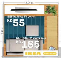 Publicité Ikea Resize a room