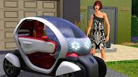 Renault s'invite chez les Sims - Concept Twizy Z.E