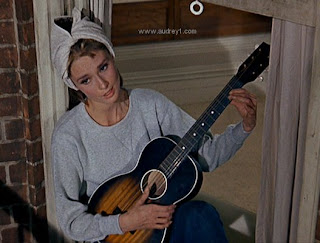 Audrey Hepburn sings Moon River; image courtesy of victoriaegs.blogspot.com