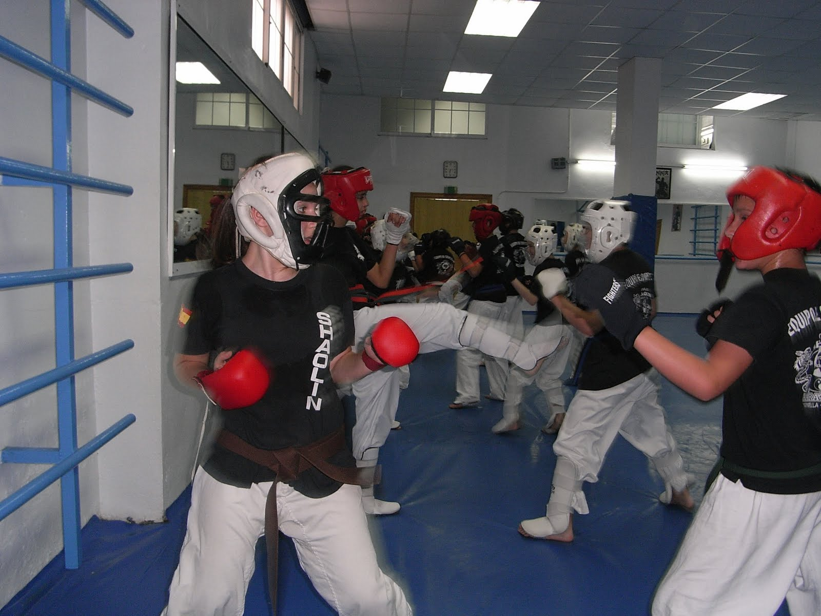 noticias deportivo shaolin 100 combates de karate