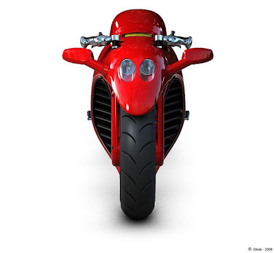 4 Ferrari Red High Power Bike