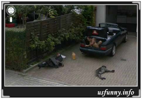 Funny Pictures Google Maps