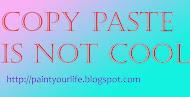 Do not copy paste