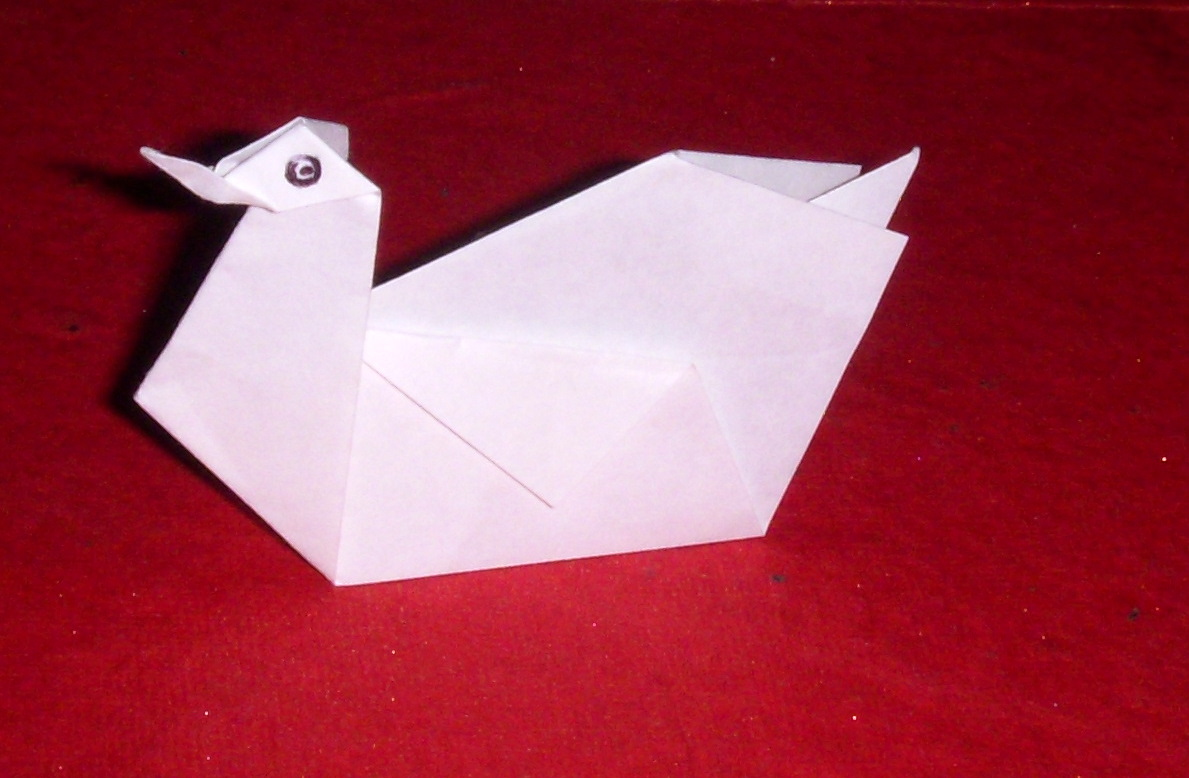 Origami: Origami Swan - photo#38