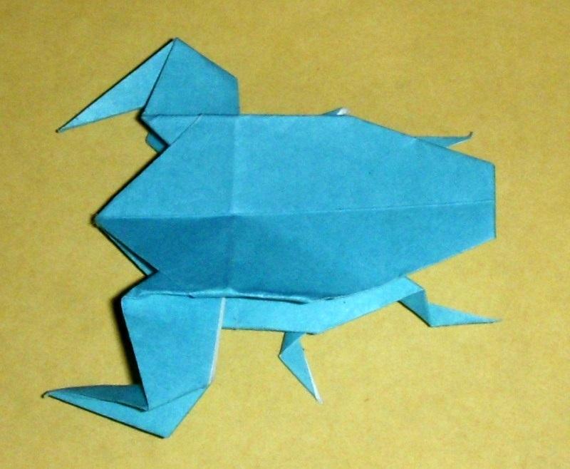 Origami origami giant water bug