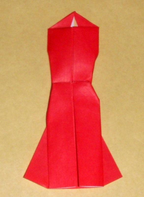 origami origami evening dress
