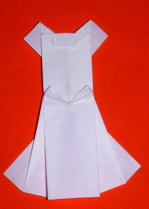 Origami: Origami Wedding Dress - photo#1