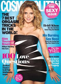 Cosmo magazine May 2010 Heidi Klum