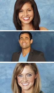Melissa, Jason and Molly on The Bachelor
