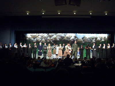 andy sound of music cast curtain call