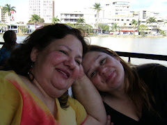 Leninha(mãe) e Flávia(filha)