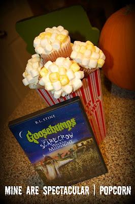 Goosebumps, Cupcakes, Popcorn, Halloween