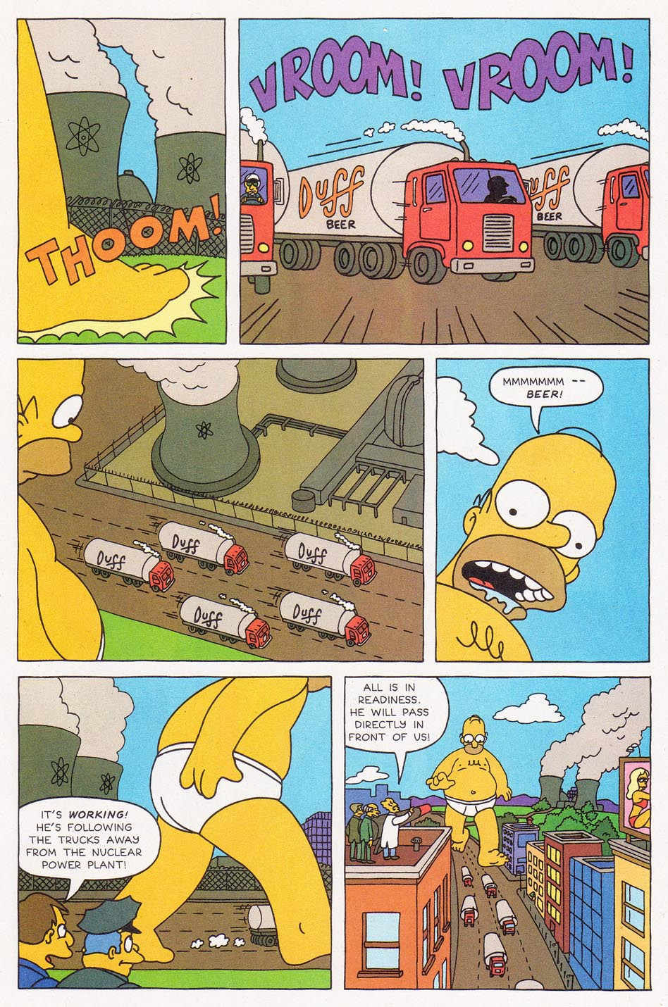Read online Simpsons Comics comic -  Issue #1 - 23