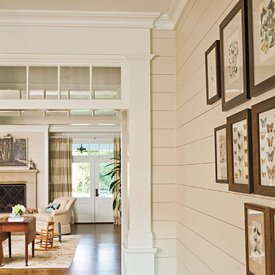 Classically Eclectic Transom Windows