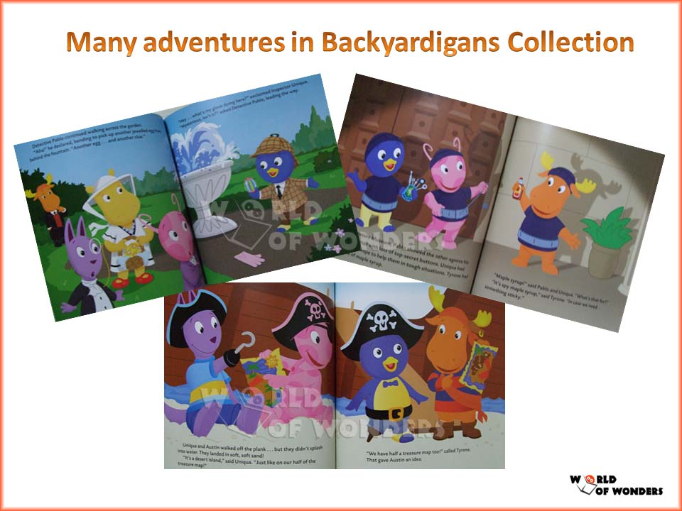 the backyardigans mission to mars book - photo #29