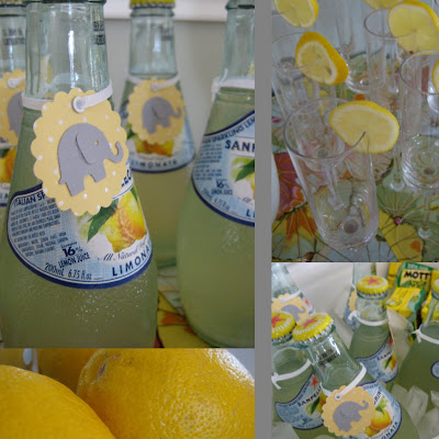 yellow and gray elephant baby shower oh my creative