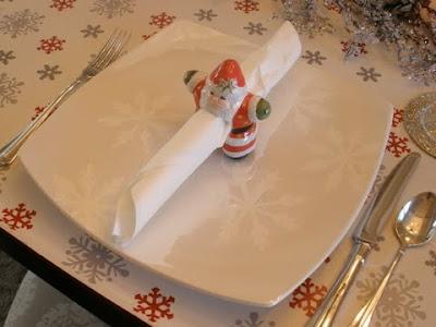 Santa Napkin Ring