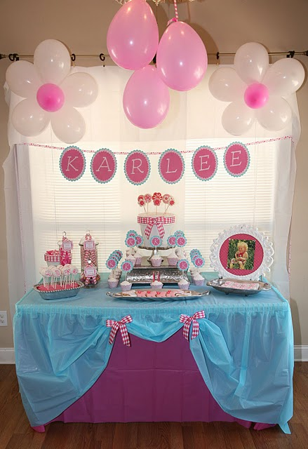 Flower 2nd Birthday Party Oh My Creative