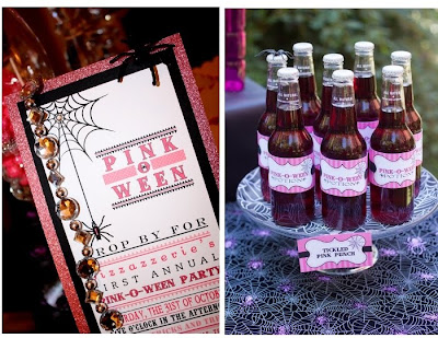 Pink o ween party