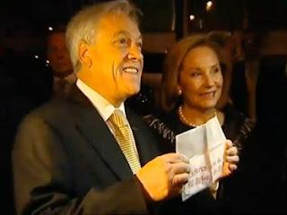Cecilia Morel ruega a Piñera que 'no lo muestre'