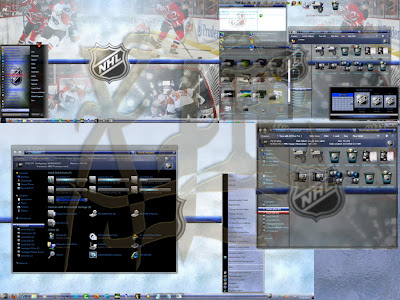 NHL 7 2010 Aero Theme For Windows 7
