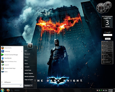 Dark Knight Batman Movie Theme For Windows 7