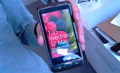 Windows Phone 7 running LG Panther Photo Leaks gaian