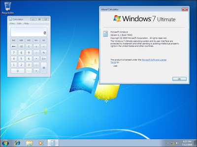 Windows 7 RTM build 7600 released