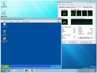 XP Mode In Windows 7:Details With Screenshot