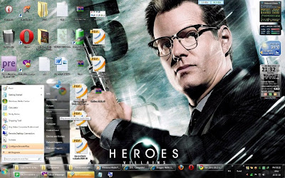 Heroes TV Series ThemePack For Windows 7 Free Download
