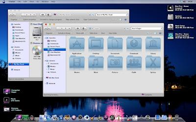 Snow Leopard Theme for Windows 7