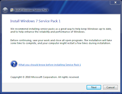 Windows 7 Service Pack 1 Beta Build 7601.16543.100403-1630 Is Leaked & Available For Downloading