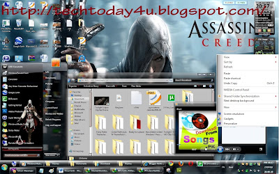The Assassin's Creed Games Theme For Windows 7