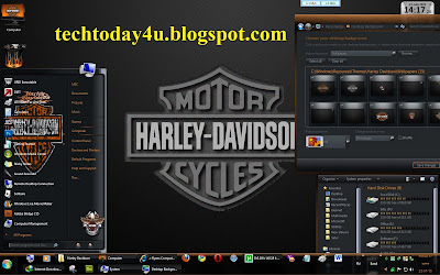 Harley Davidson theme for Windows 7