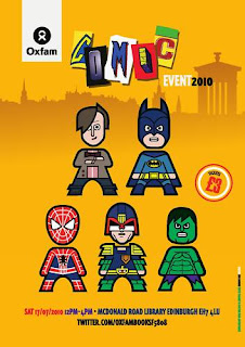 Oxfam Comic Event 2010