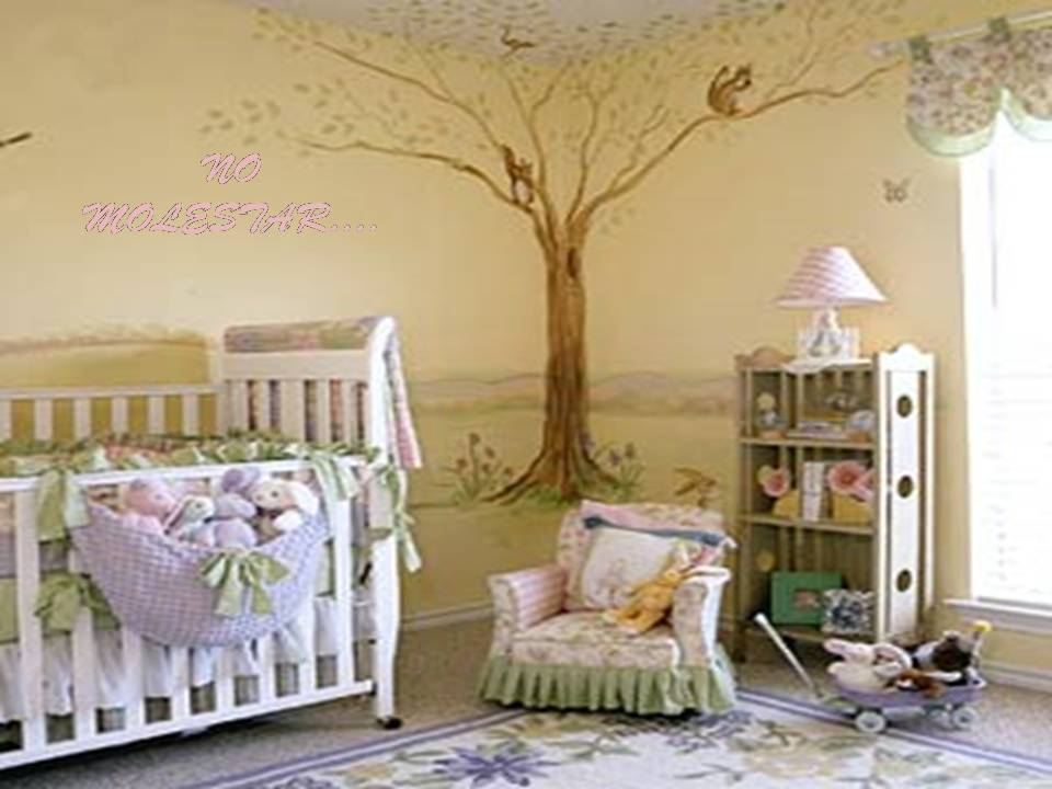 Decoracion unisex para el cuarto del bebe by dormitorios for Decoracion de mi habitacion