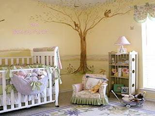 Mi bebe en alejjja septiembre 2010 - Como decorar una habitacion de bebe nina ...