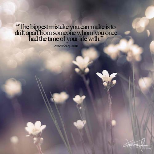 a big mistake you once made