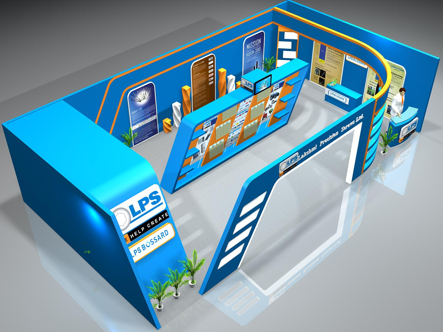 Exhibition Stall Hyderabad : Amit chand exhibition stall designer and contractor in