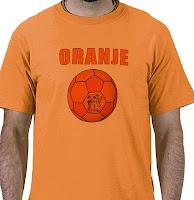 Oranje T-Shirt Voetbal