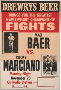 Rocky Marciano boxing poster