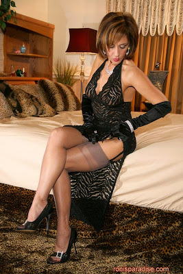 Mature Roni In Nylons. Roni always dresses to please and tease and no outfit ...