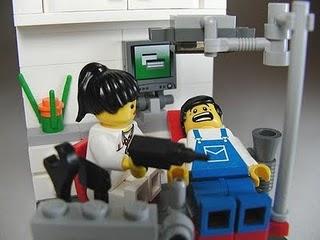 dentista brinquedo lego
